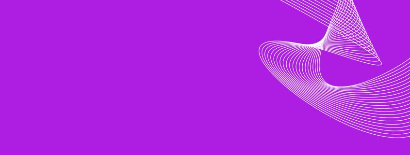 chemie Linien auf violett