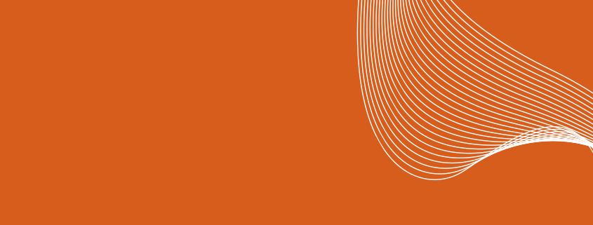 kosmetik linien auf orange