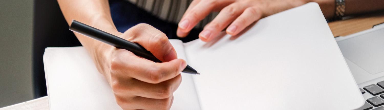 Schreiben in Heft